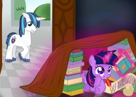 Reading is fun! by koolestkitty
