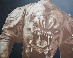 Rancor Monster by Papergizmo