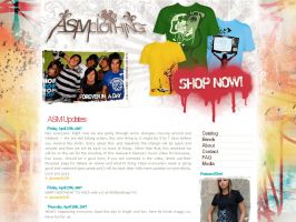 +ASMclothing+ web site by ribcages