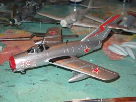 Model MiG-15 by kanyiko