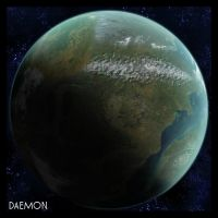 A Planet 2 by DaemonGFXvoid