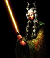 Me as a Jedi Togruta by Skypher