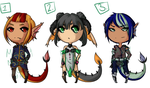 Lava Surfer Adopts Set 1 - OPEN by MochiMoshi
