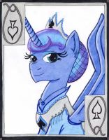 The Watchful Queen of Spades: Princess Luna by The1King