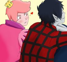 I think I love you- Gumball Marshall Lee by Giuzzys
