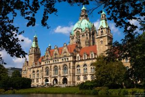 Hannover Town Hall by CaptainNuss