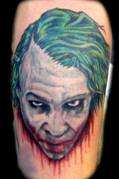 Joker Tattoo by mubbamubba