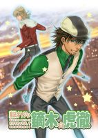 TigerandBunny Donjinshi Cover by kingsindigo