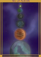 Six of Worlds - Tarot Contest by Zarreis
