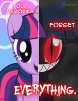 Dark Twilight Sparkle - Equirin Infestation by PonyChaos13