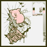 Tee - King Pork by graphikj