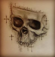 Skull by Kelly11AtTheDisco