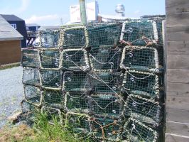 Fisherman's Cove - lobster traps by tobysq