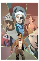 Doctor Who II Issue 8 RI Cover by CharlieKirchoff