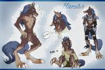 Harsha Hiilmei - ref sheet by Kurozora-Konoi