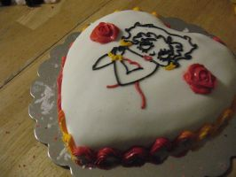 Betty boop from the side by Alielove19