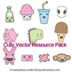 Cute Vector Resource Pack by blo0p