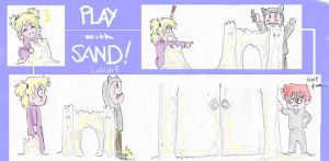 play with sand by lalla17