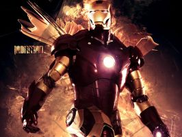 Ironman Wallpaper by gazeFreak