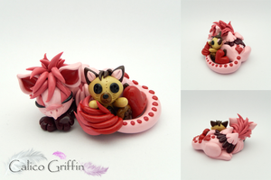 Binkie - Valentine griffin by CalicoGriffin