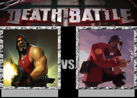 Death Battle Axl Vs Soldier by toamac