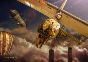 Steampunk sky by annewipf