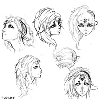 El head ref! Angle practice by Flesh-Odium