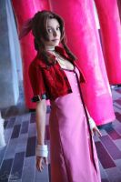 Aerith Gainsborough I by EnchantedCupcake