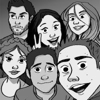 teen wolfs by ggns