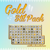 Gold stil pack by Edailhan