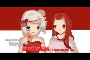 Happy 67th Indonesia's Independence Day! by RanifyZee