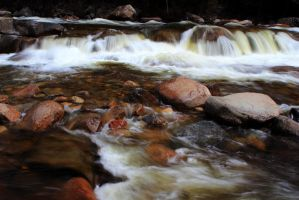 Rocks in the Stream by Celem