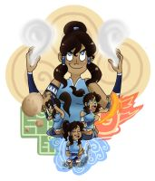 KORRA by LittleGreenHat