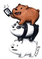 We Bare Bears by msciuto