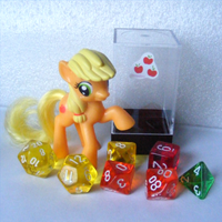 MLP Dice - Applejack by Invidlord