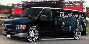 Metallica van by guspeed by GUZSPEED