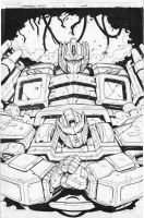 Transformers More Than Meets the Eyes 10 cover ink by MarceloMatere