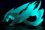 night glow dragon adopt (closed by oukamiyoukai45