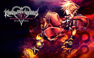 Sora Dream Drop Distance Wallpaper with Logo by Ashesofdawn253