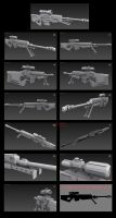 Contention: UNMC M-130 Sniper rifle Gen 2 by Malcontent1692