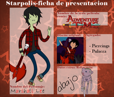 Marshall Lee - SP Ficha by GaaMiyu