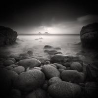 Porth Nanven, A Triptych #1 by Eukendei