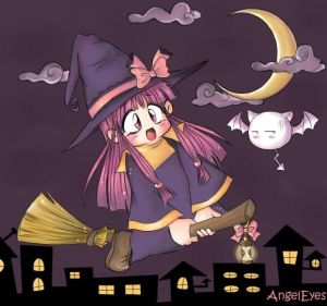 lil witch XD by AngelUAE - Cad�Lara AvatarLar :)