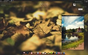 july ten desktop' AUTUMN by iDioxy