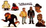 Tumbleweed Compilation 1 by Kilo-Monster