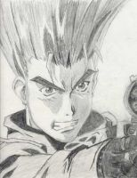 Vash the Stampede by T16skyhopp