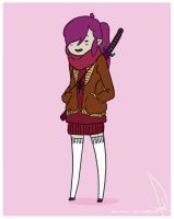 Marceline's Cousin Ash by kaniphish