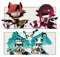 [OPEN+ RARE+ EXTRA] ADOPT AUCTION 157 - Blind Lace by Piffi-adoptables