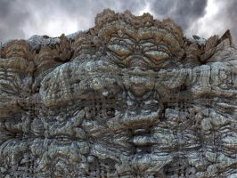 Weathered Stone by GraphicLia