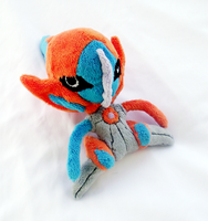 Deoxys Speed Form Pokedoll by xBrittneyJane